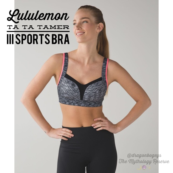 5988cca76925c lululemon athletica Other - Lululemon Ta Ta Tamer III Sports Bra 34DD